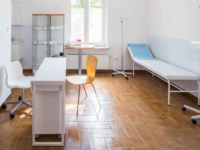 Gabinet w ośrodku leczenia uzależnień